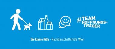 Banner mit Icons - Nachbarschaftsfhile Wien