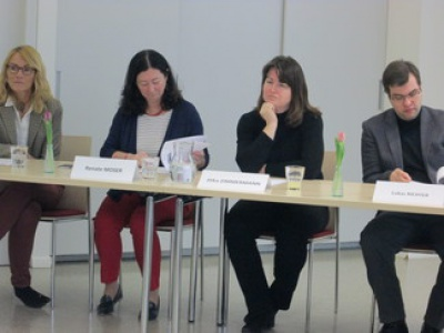"""Pressekonferenz zum Thema """"Altersarmut bei Frauen"""""""
