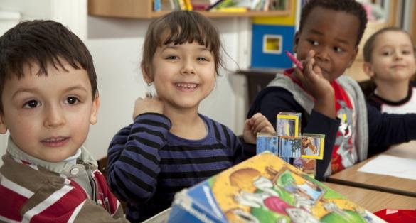 In der Familienschule. © Ulrike Wieser/ Diakonie Bildung